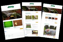 Website design for Demaree Sod Farm