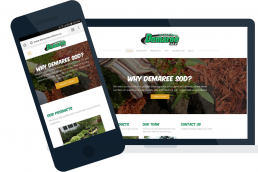 Demaree sod farm website