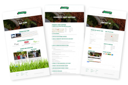 Content creation for Demaree Sod Farm